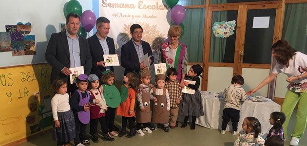 La IV Semana Escolar del Aceite acerca el AOVE y la cultura del olivar a 218 centros educativos de Jaén