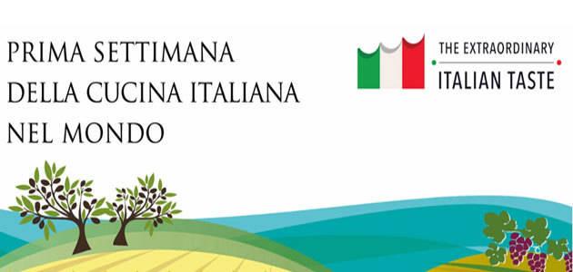 La Primera Semana de la Cocina Italiana en el Mundo