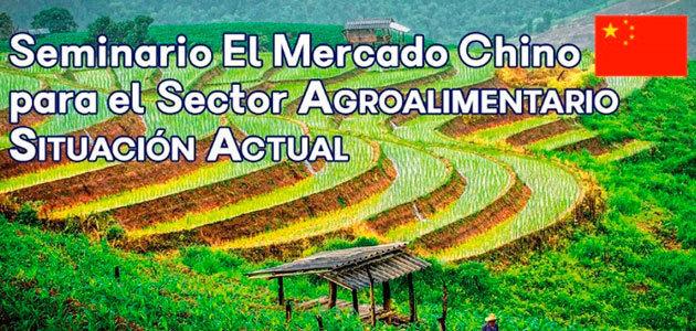 El mercado chino para el sector agroalimentario, a debate en un seminario en Madrid