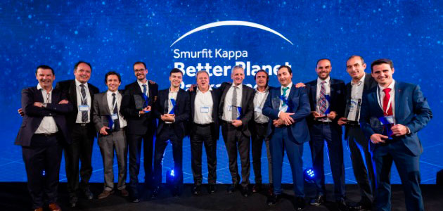 Smurfit Kappa celebra en Holanda sus Innovation Awards
