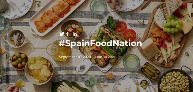 Spain Food Nation, nueva campaña para promocionar la excelencia de los alimentos españoles en el exterior