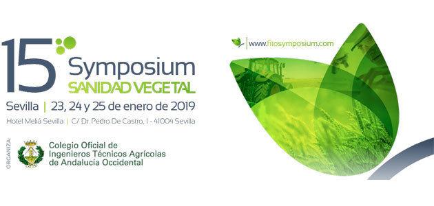 El marco regulador del registro de fitosanitarios en España centrará el 15º Symposium Nacional de Sanidad Vegetal