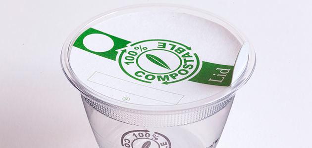 Las copas y vasos para la cata ya tienen sus tapas compostables