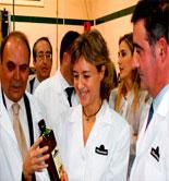 García Tejerina inaugura la campaña oleícola 2014/15 de Oleoestepa