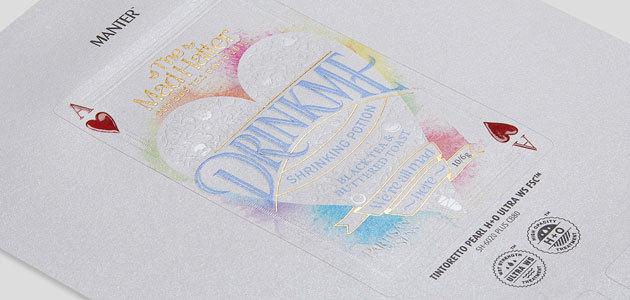 Arconvert-Ritrama presenta Cotone Nero Felt y Tintoretto Pearl H+O, dos nuevos papeles autoadhesivos de la gama Manter