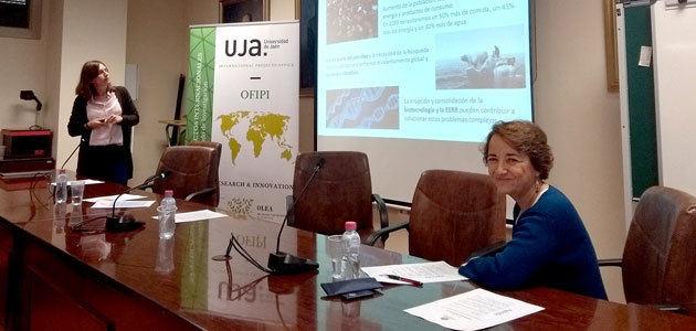 La Oficina de Proyectos Internacionales de la UJA organiza un seminario sobre bioeconomía internacional