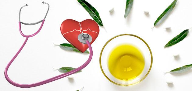Confirman que el consumo de aceite de oliva virgen reduce el riesgo de sufrir cardiopatías