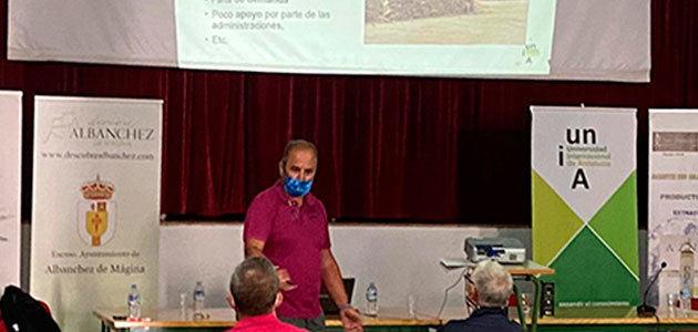 Nuevos cursos de la UNIA para el sector oleícola