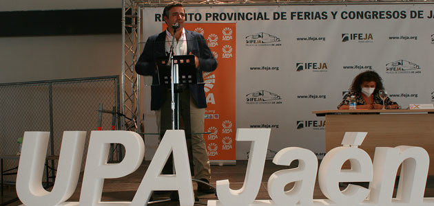 Cristóbal Cano, reelegido secretario general de UPA-Jaén