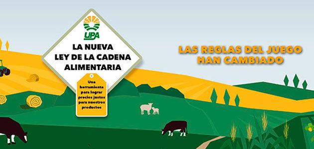 UPA lanza una campaña informativa sobre la Ley de la Cadena Alimentaria