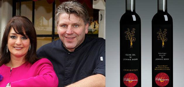 Aceites Valderrama renueva su acuerdo con el chef holandés Jonnie Boer