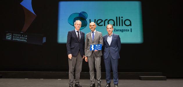 Verallia Zaragoza recibe el Premio a la Excelencia Empresarial 2018