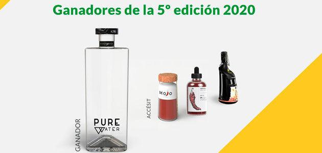El envase Pure, proyecto ganador de la V edición del concurso MasterGlass de Vidrala