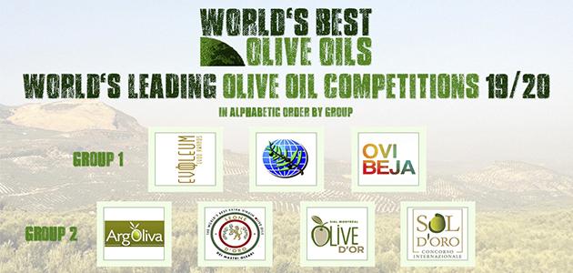 EVOOLEUM Awards alcanza la máxima categoría en el ranking 'World's Best Olive Oils'