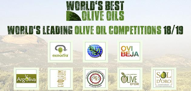 El ranking 'World's Best Olive Oils' publica sus normas y puntuaciones para la edición 2018/19