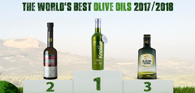 Knolive Oils y Almazaras de la Subbética, S.L., grandes triunfadores en la edición 2017/18 de 'World's Best Olive Oils'